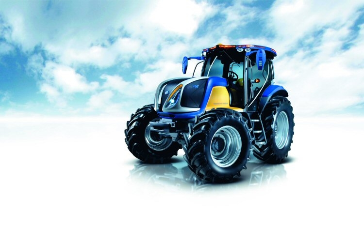 New Holland Hydrogin Powered Tractor